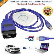 1.5M OBD2 USB Cable 409.1 VAG COM VCDS OBD Diagnostic Scanner VW/Audi/SEAT/Skoda