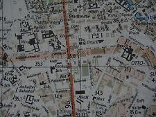Brandenburger Tor Berliner Mauer Berlin Wall topographische Karte MfS NVA Grenze