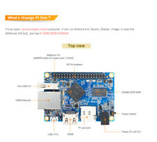 Orange Pi One H3 512MB Quad-core Support ubuntu linux and android mini pc
