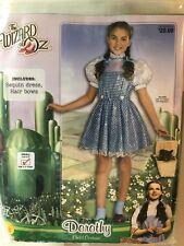 Dorothy Wizard Of Oz Halloween Costume Size Youth Small 4-6 Ys Rubies Nip