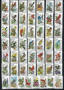 USA - MNH 50 State Birds & Flowers  #1953 - 2002  Complete Set............R 819