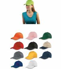 STOCK 10 PEZZI Cappello cappellino con visiera rigida 6 pannelli basebal 0MO6