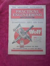 New listing Vintage Practical Engineering Magazine - Measuring Instrument. October 1949