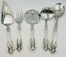 Grand Baroque by Wallace Sterling 5 Piece Thanksgiving Server Set