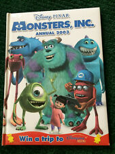 MONSTERS INC Disney Monsters University Annual: 2003 by Egmont UK Ltd  PIXAR