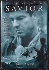 Savior (DVD, 1999) Dennis Quaid, true story from Bosnian War, American Hero NEW