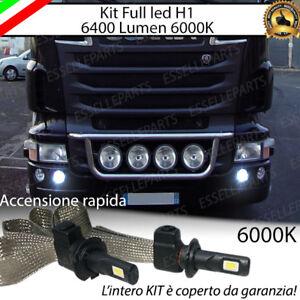 KIT LED SCANIA SERIE R LAMPADE H1 FARI SUPPLEMENTARI CANBUS 6000K 6400 LUMEN