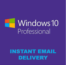 ✅ Windows 10 PRO PROFESSIONAL✅ GENUINE LICENSE KEY 🔑 INSTANT DELIVERY 🔑✅