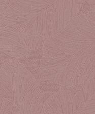 Marburg Tapete la Veneziana 3 57950 Hoja Hojas Rosa Oscuro Papel Pintado Fieltro