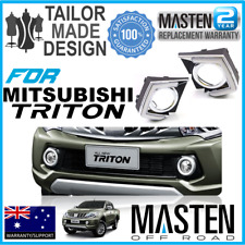 *2x LED DRL daytime running lights fog lamp Fit for Mitsubishi L200 Triton 15-16