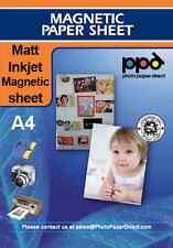 PPD A4 Inkjet Magnetic Paper Sheet Matt X 5 Sheets