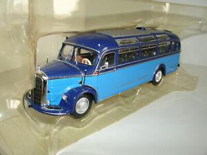 1/43 MERCEDES-BENZ O 3500 BUS 1950 LIGHT/DARK BLUE L.E. OF 504 pcs by MINICHAMPS