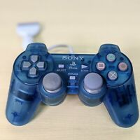 Sony PlayStation 1 PSOne Controller Remote Blue For Parts Salvage Repair