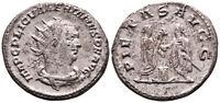 VALERIAN (253 AD) BI Antoninianus. Antioch #AI 6321