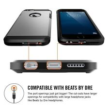 Apple iPhone 7 Hülle Case  Farbe  Dunkelgrau Top Cover Tasche Schütze