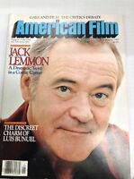 American Film Magazine Jack Lemmon Luis Bunuel September 1982 040517nonr