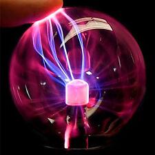 NEU PLASMAKUGEL Retro Plasmaball Party Deko Lichteffekt Plasma Lampe Leuchte·