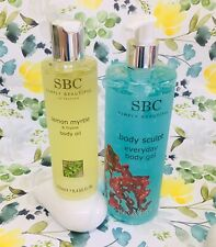 ✨🌸SBC Body Sculpt Everyday Gel 500ml & Lemon Myrtle & Thyme Body Oil 250ml🌸✨