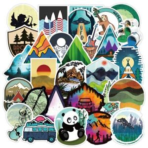 Outdoor Nature Stickers Cool Vibe