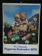 """Goebel Hummel Kalender Calendar 1979, Titelbild """"Das kluge Schwesterlein"""""""