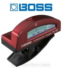 BOSS TU-10-RD Clip-On Tuner For Guitar / Bass New w/Tracking No. From Japan