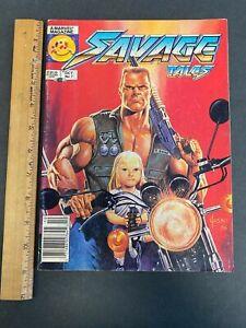 VINTAGE 1986 SAVAGE TALES OCTOBER VOLUME 2 #7 MARVEL COMICS MAGAZINE 61821