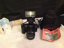 Canon Eos 1000F With Speedlite 430EZ Flash & Zoom Lens EF 28-105Mm 1:3.5-4.5