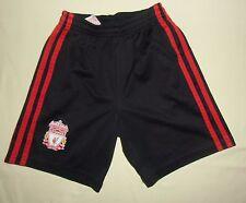 LIVERPOOL FC / 2010-2011 Away - ADIDAS - KIDS football Shorts. Size: 6y, 116cm