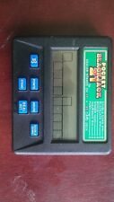 hand held electronic video card game, blackjack