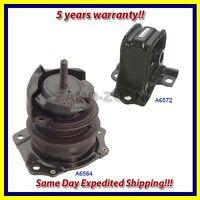 Engine Motor Mount Set 2PCS - w/ Vacuum 1998-2002 for Honda Accord 2.3L for Auto