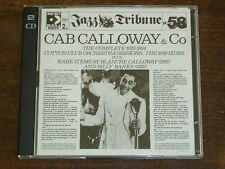 CAB CALLOWAY & CO The complete 1933-1934 Cotton Club orchestra sessions - 2CD