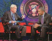 Chris Matthews REAL hand SIGNED Photo #1 COA Harball MSNBC Barack Obama