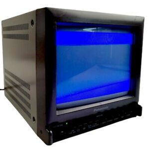 "Panasonic BT-S901Y Color Video Monitor 9"" Vintage CRT Retro Gaming Television"