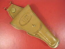 WWI US Army AEF M1912 Leather Swivel Holster Colt M1911 .45acp Pistol Commercial