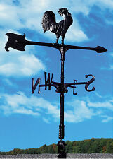 """New listing Whitehall 30"""" Accent Rooster Weathervane - Quick & Free Ship Includes Roof Mount"""