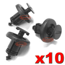 FRONT GRILLE TRIM CLIPS RETAINERS PLASTIC FASTENERS FOR NISSAN QASHQAI