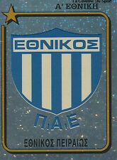 N°117 BADGE PAE ETHNIKOS GREECE HELLAS PANINI GREEK LEAGUE FOOT 95 STICKER 1995