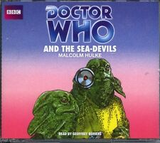 Dr Doctor Who and The Sea Devils Audio CD Set MINT