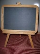 "CHALKBOARD WOOD 12"" EASEL MESSAGE DESK TOP HOME NS201"