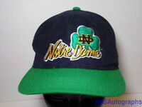 Vintage 1990s NORTRE DAME FIGHTING IRISH The Game NCAA Snapback Hat Cap FOOTBALL