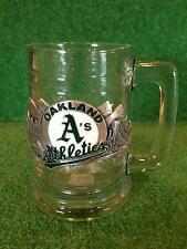 Oakland Athletics Tankard With Enameled Pewter Emblem! Siskiyou Gifts
