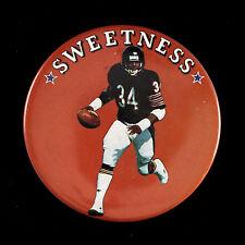 "1980's Sweetness Walter Payton Chicago Bears 3"" Pinback Button"