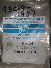 """Teledyne Genuine Throttle Shaft Part # 93C29-1388 """" New Old Stock """"2 Available"""
