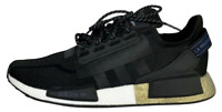 Adidas NMD R1 V2 Core Black Gold FW5327 Running Shoes Men's Size 10.5 11.5 NEW