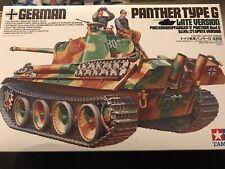 Tamiya 1:35 SdKfz.171 Panzer Panther G Late Version OVP