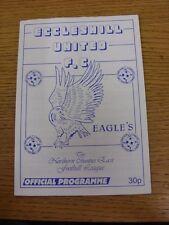 16/10/1993 Eccleshill United v Prontefract Cols & 14/10/1993 Pontefract Cols [Pr