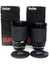 Vivitar Macro/Close Up Camera Lenses 28-200mm Focal