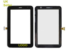 SAMSUNG Galaxy Tab 7.0 gt-p6200 p6210 Digitizer PLUS TOUCH SCREEN VETRO NERO