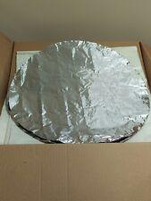 "24"" Round Eternabond Aluminum Patch HVAC Heat Shield Duct Seal - Case of 19"