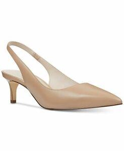 Nine West Women's Shoes Felix Kitten-Heel Pumps Light Natural 6.5, 7.5, 10